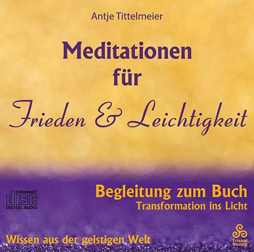 Meditationen für Frieden & Leichtigkeit CD-Cover