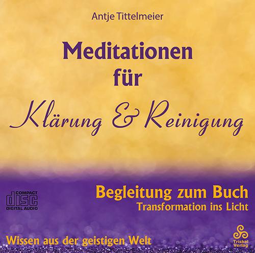 Meditationen für Klärungen & Reinigung CD-Cover