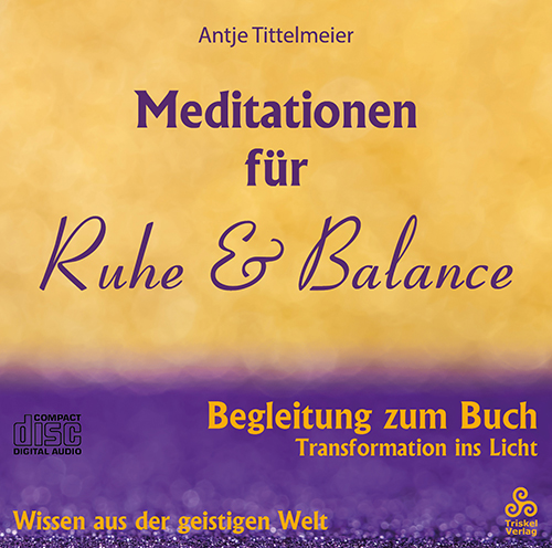 Meditationen für Ruhe & Balance CD-Cover